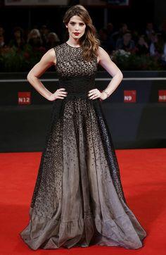 2014 - Ashley Greene In Antonio Berardi – 'Burying The Ex' Venice Film Festival Premiere