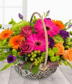 Welcome to the homepage of Tulip Floral Design (Sunderland Florist). Hand delivering flowers in and around Sunderland. The finest quality flowers delivered with exceptional, friendly service. Basket Flower Arrangements, Beautiful Flower Arrangements, Flower Vases, Colorful Flowers, Spring Flowers, Silk Flowers, Floral Arrangements, Beautiful Flowers, Simply Beautiful
