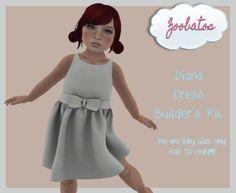 Zoobatos - Diana Dress Builder's Kit