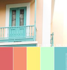 a puerto-rico-inspired color palette