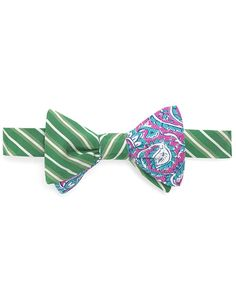 Social Primer Reversible Bow Tie  for Brooks Brothers