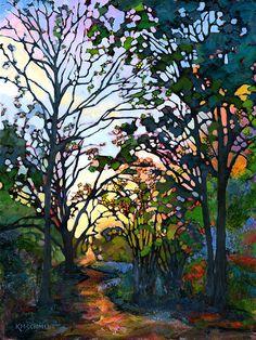 KMSchmidt Landscape Paintings                                                                                                                                                     Más