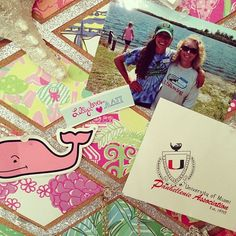 so going to try this in my dorm next year.  Love the ribbon and squares of lilly prints.