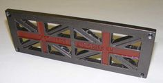 Union Jack vent grille painted red cross - St George item UJ3Red £45+vat from http://www.castironairbricks.co.uk/UnionJack.htm