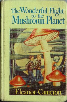The Wonderful Flight to the Mushroom Planet. In print since the A mystery man inspires two boys to build a space ship which takes them to the planet of Basidium to help the Mushroom people. Best Book Covers, Vintage Book Covers, Book Cover Art, Vintage Books, Book Art, Guache, Cool Books, Room Posters, Psychedelic Art