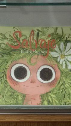 """""""Salvaje"""" de Emily Hughes. Libros del Zorro Rojo."""