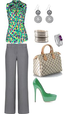 """Mardi Gras"" by ann-eastham on Polyvore"