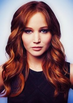 This is the exact hair and color I want. 50 Best Red Hair Color Ideas | herinterest.com Russet red