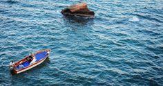 Baia due Frati , Sposi in barca