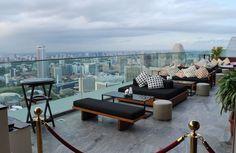 Лучшие бары на крышах Сингапура