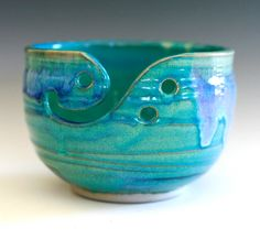 Yarn Bowl. Got to keep this in mind if I ever get back to the wheel.