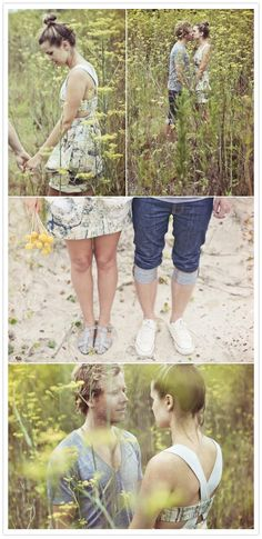 Engagement photo session! I love how these are so casual and relaxed nothing too fancy!