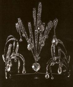 Waterfall tiara of HIH Grand Duchess Vladimir of Russia