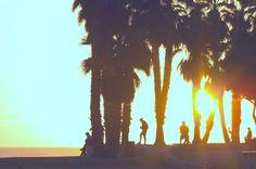 Cali sunset.