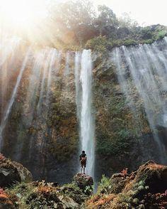 15 Best Tumpak Sewu Images Lumajang Waterfall Outdoor