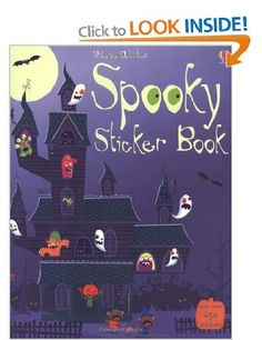 Spooky Sticker Book (Usborne Sticker Books): Amazon.co.uk: Fiona Watt, Stella Baggott: Books