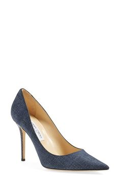 Jimmy Choo 'Abel' Pointy Toe Pump (Women) available at #Nordstrom