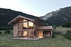 Alp'Architecture sàrl - Le Châble / Lausanne -   Vollèges villa