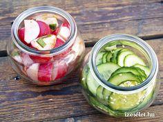 Marinálás Pickles, Cucumber, Vegetables, Food, Essen, Vegetable Recipes, Meals, Pickle, Yemek
