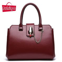 (38.89$)  Buy here  - BVLRIGA Brand genuine leather bag lipstick luxury handbags women bags designer women messenger bags high quality real leather