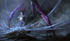Spider Queen by DreadJim on deviantART