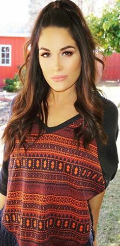 "( CELEBRITY WOMAN from WWE Diva 2016 ★ BRIE BELLA ) ★ Brianna Monique Garcia-Colace - Monday, November 21, 1983 - 5' 6"" - San Diego, California, USA."
