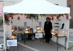 Craft Booth Display Ideas | EuroKraft Jewelry Wire Wrapped, Swarovski Crystal, and Rubber Jewelry ...