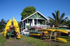 Kayak Kauai Hanalei Shop on the North Shore