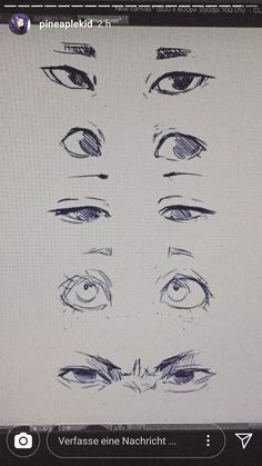 Pro artist tips eyes Drawing Expressions, Arte Sketchbook, Anime Drawings Sketches, Eye Drawings, Pencil Drawings, Anatomy Drawing, Anime Eyes, Art Reference Poses, Face Drawing Reference