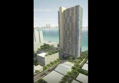 Torre terá 40 andares com um total de 330 unidades