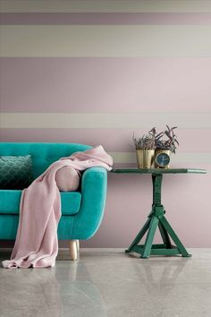 Porcelain slabs in pastel shades, designed to create lively but balanced compositions, decorate spaces with both retro style and contemporary character.  Italian Home, Interior Decorating, Interior Design, Color Interior, Cafe Interior, Home Staging, Retro Design, Tile Design, Decoration
