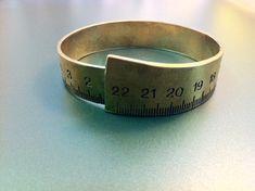 Cool measure statement bracelet handmade by ArchipelagosBreeze, €47.00
