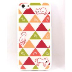 Amusement,Cat and Fish Pattern iPhone 5 Case,Collectible listed at CDJapan! Get it delivered safely by SAL, EMS, FedEx and save with CDJapan Rewards!