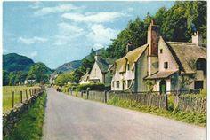 Fortingall, Perthshire. Scotland.