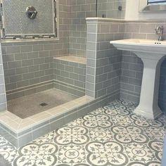 best bathroom flooring ideas on mosaic tile floor x m tile ideas Best Bathroom Flooring, Bathroom Floor Tiles, Bathroom Cabinets, Kitchen Tile, Mosaic Shower Tile, Bathroom Canvas, Kitchen Floor, Morrocan Floor Tiles, Bathroom Tile Showers