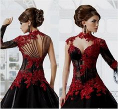 1000-ideas-about-gothic-wedding-dresses-on-pinterest-steampunk-365085.jpg (736×682)
