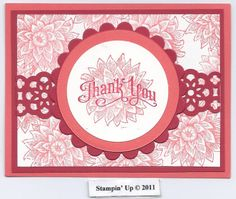 Stampin Up Creative elements and Perfectly Penned