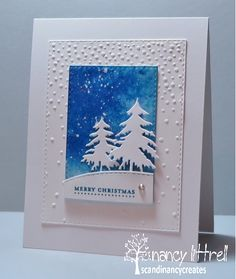 """My stamping began 15+ years ago because I wanted to make Christmas Cards.  I bet you have heard that before :-)  About 13 years ago I discovered SU and in 2007 I became a Demo.  In 2004 I became a SCS member.  That is when my stamping increased along with my list of new stamping friends.   My """"scandinancy creates"""" Blog is my latest adventure with much help and encouragement from my SCS girlfriend Loll.  Now I can join in the Stamping Blogging Craze.   Hugs,  Nancy"""