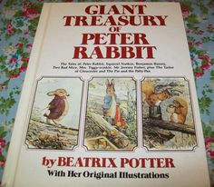Beatrix Potter Peter Rabbit Giant Treasury of Peter by BlueSkyLane, $8.99