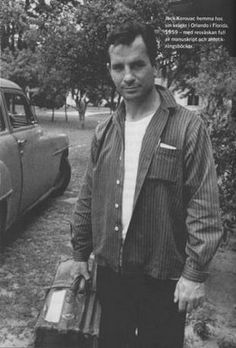 Jack Kerouac.. On the Road was one of my favorite books. I have a secret crush on the beatnik/ counter culture of the 50s and 60s.