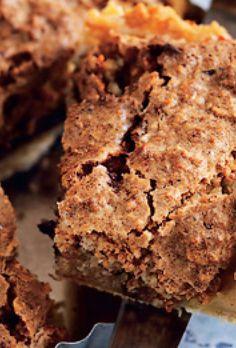 "Lyt til vores podcast-serie ""Kloge koner"" Chocolate Toffee, Best Chocolate, Chocolate Chip Cookies, Danish Dessert, Cake Recipes, Dessert Recipes, Keto Recipes, Macaron, Sweet And Salty"