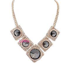 Fashion Waterdrop Necklace Lm2050