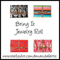 """""""Bring It Jewelry Roll"""" by amanda-mocas-farris on Polyvore"""