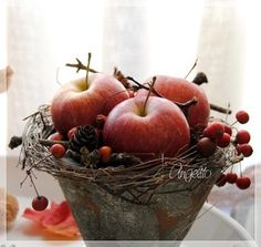 äpfel für ikeatortenständer