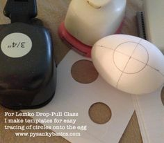 Teacher Tip:  I make index card templates for students to draw on eggs in the Lemko Drop Pull class.   www.pysankybasics.com
