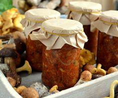 Kaszuby czyli sałatka z grzybów po kaszubsku