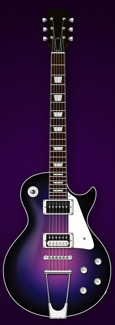 Gibson Les Paul Deep Purple by Ike Ku