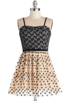 Twofer Won Dress. You are right - this too-cute party dress by Yumi is your must-have look!  #modcloth