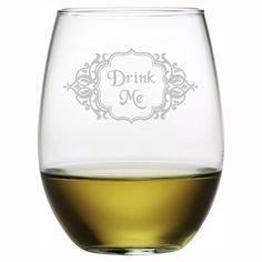 Alice Stemless Wine Glass (Set of 4)-- yoo birthday gift...