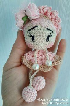 Crotchet Patterns, Crochet Doll Pattern, Crochet Patterns Amigurumi, Amigurumi Doll, Crochet Fairy, Easter Crochet, Crochet Bunny, Knitted Dolls, Crochet Dolls